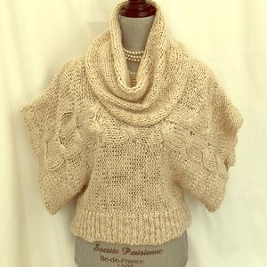 Jessica Simpson chunky cable knit sweater large